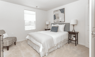 Bedroom, Glenmary Grove Senior Apartments, 1