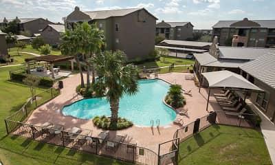 Pool, San Pedro Apartments at Sharyland Plantation, 1