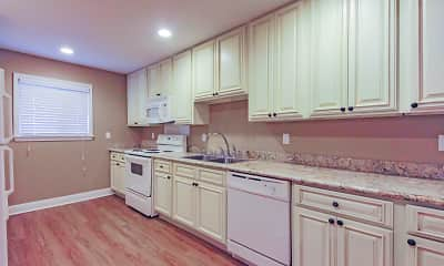 Kitchen, Gatehouse Apartments, 0