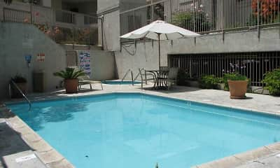 Pool, Gardendale Park Apartments, 1