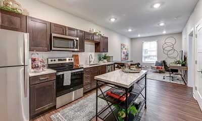 Kitchen, The Aubrey, 1