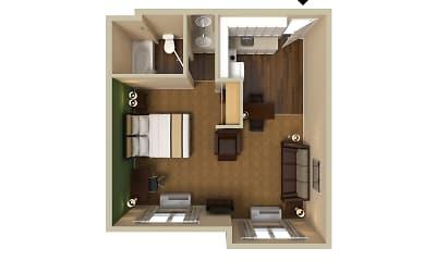 Furnished Studio - Dallas - Plano, 2
