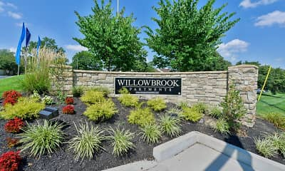 Community Signage, Willowbrook Apartments, 2