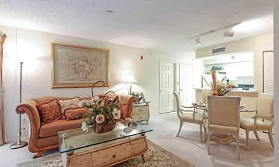 Living Room, Vista Verde At Deerwood, 1