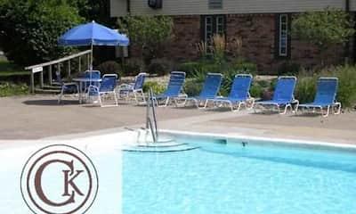 Pool, Chateau Knoll Apartments, 1