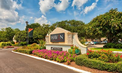 Community Signage, Haven Apartments and Townhomes, 2