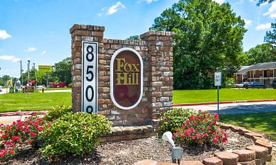 Community Signage, Fox Hill Apartments, 2