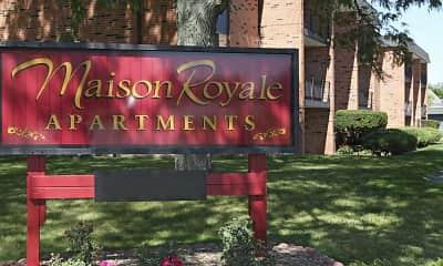 Community Signage, Maison Royale, 2