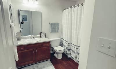 Bathroom, Catawba Apartment Homes, 2