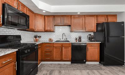 Kitchen, Winston Square Apartments, 0