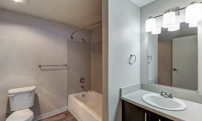 Bathroom, Vibe Apartments, 2