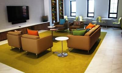 Living Room, THE BONIFANT AT SILVER SPRING, 2
