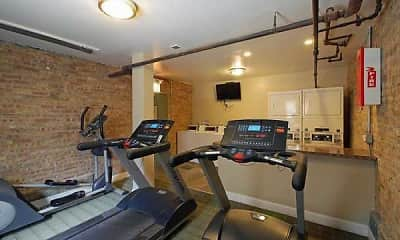 Fitness Weight Room, 660 W. Barry, 1
