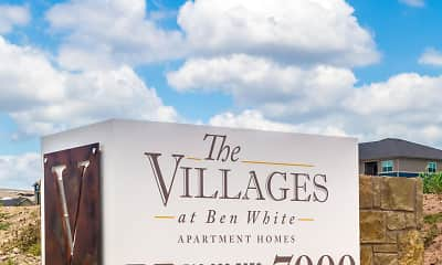 Community Signage, The Villages at Ben White 55+, 1