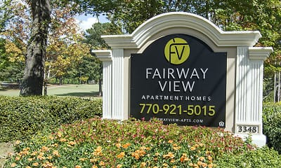Community Signage, Fairway View, 2