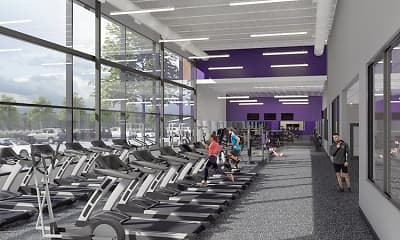 Fitness Weight Room, Viking Lakes Residences, 2