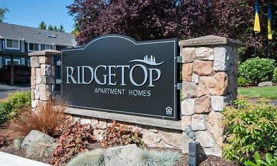 Community Signage, Ridgetop, 2