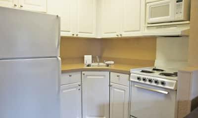 Kitchen, Furnished Studio - Fremont - Newark, 1