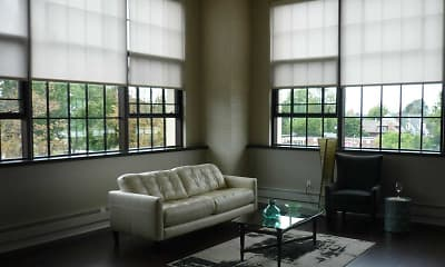 Living Room, Bethune Lofts, 0