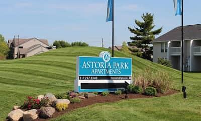 Community Signage, Astoria Park, 0