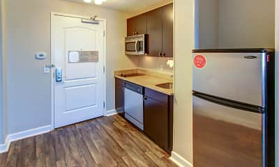 Kitchen, TownePlace Suites, 0