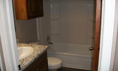 Bathroom, Oakhurst Apartments, 2