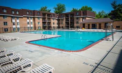 Pool, Oakton Park Apartments, 1