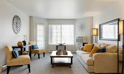 Living Room, Birchwood Apartment Homes, 0