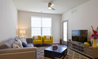 Living Room, Cedar Park Community, 1
