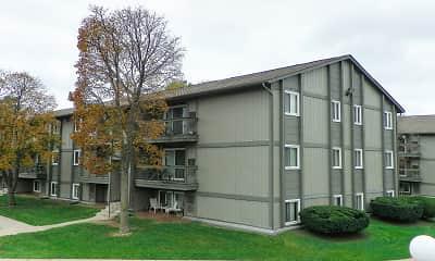Building, Pine Lake Apartments, 1