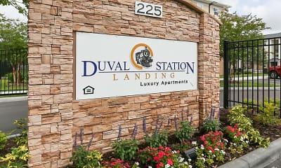 Community Signage, Duval Station Landing, 0