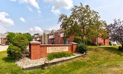 Building, Parkside Apartments / Grace Manor Apartments, 0