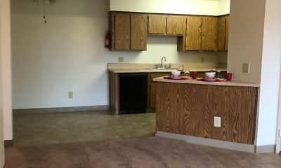 Kitchen, Vantage Point Apartments, 2