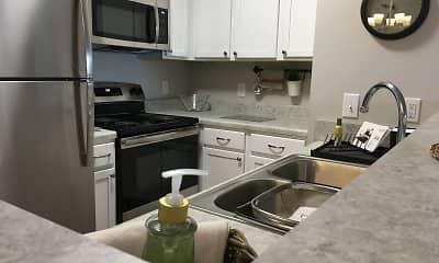 Kitchen, Washington Village Apartments, 2