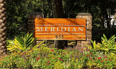 Community Signage, The Meridian, 2