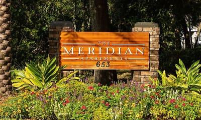 Community Signage, The Meridian, 2