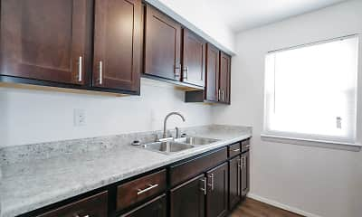 Kitchen, Churchland Square, 2
