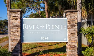 Community Signage, River Pointe Apartment Homes, 0