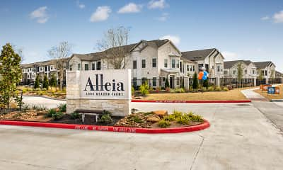Community Signage, Alleia Long Meadow Farms Apartments, 0