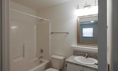 Bathroom, Barrington Apartments, 2