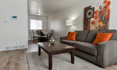 Living Room, Havenwood Townhomes, 1