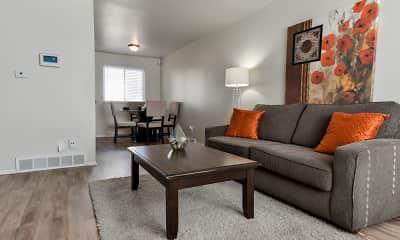 Living Room, Havenwood Townhomes, 1