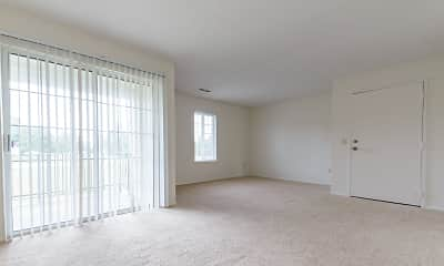 Living Room, Windsor Gardens Apartments, 1