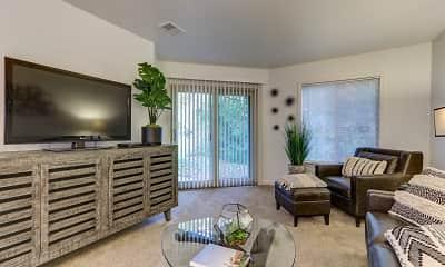 Living Room, Hidden Lakes, 1