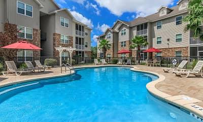 Pool, Crosswinds Apartments, 1