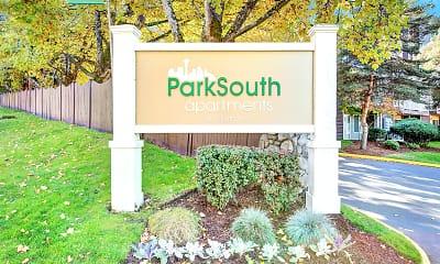 Community Signage, Park South, 2