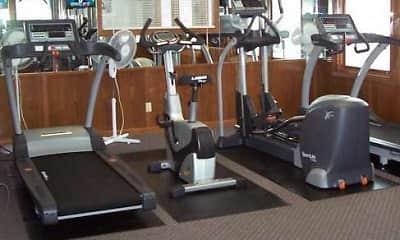 Fitness Weight Room, Homewood Manor Apts, 2