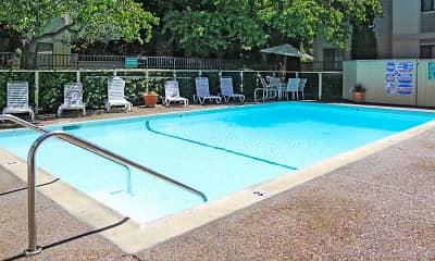 Pool, Austin Commons, 2