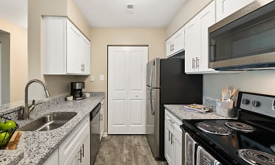 Kitchen, Hunt Club Apartments, 0