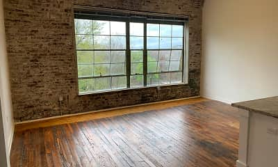 Living Room, Fulton Supply Lofts, 2